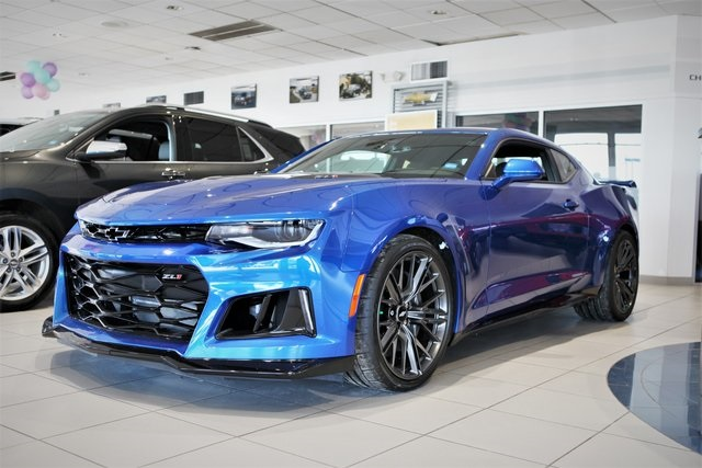 New 2018 Chevrolet Camaro Zl1 2d Coupe In Libertyville