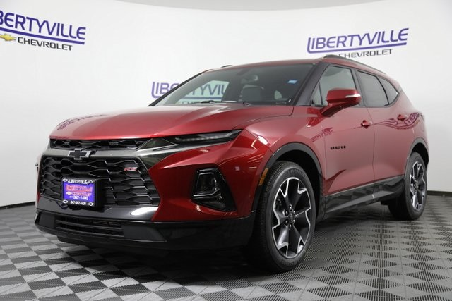 New 2019 Chevrolet Blazer Rs 4d Sport Utility In Libertyville